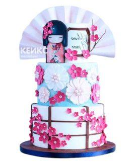 Торт в Японском стиле 5