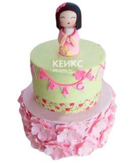 Торт в Японском стиле 8