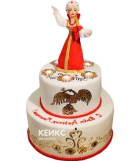 Торт в Русском стиле 10