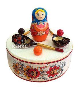 Торт в Русском стиле 11