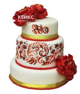 Торт в Русском стиле 2