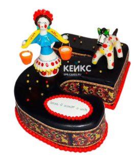 Торт в Русском стиле 3
