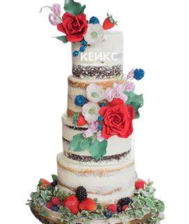 Торт в Русском стиле 6