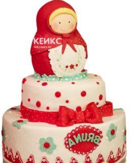 Торт в Русском стиле 8