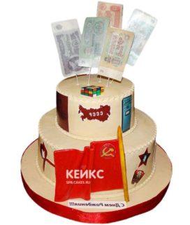 Торт в Советском стиле 10