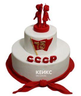 Торт в Советском стиле 8