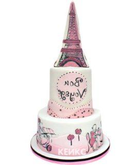 Торт в Французском стиле 14