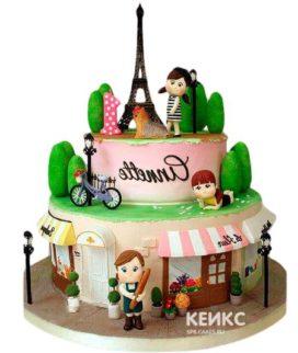 Торт в Французком стиле 4