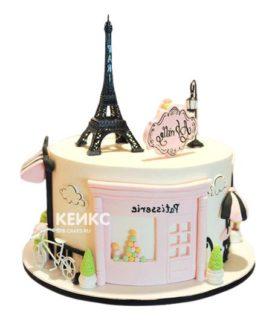 Торт в Французком стиле 8