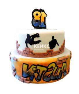 Торт в стиле Хип-хоп 10