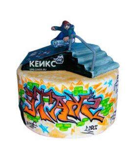 Торт в стиле Хип-хоп 14