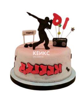 Торт в стиле Хип-хоп 15
