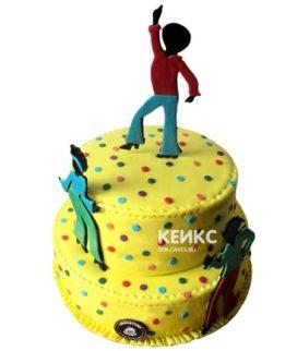 Торт в стиле Стиляги 3