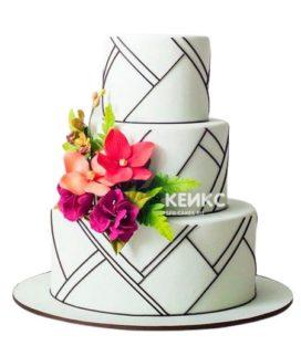 Торт в Строгом стиле 5