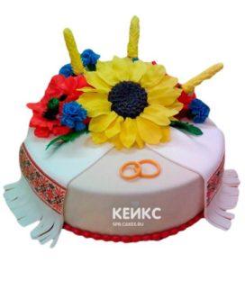Торт в Украинском стиле 1