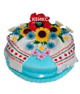 Торт в Украинском стиле 10