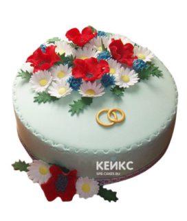 Торт в Украинском стиле 11