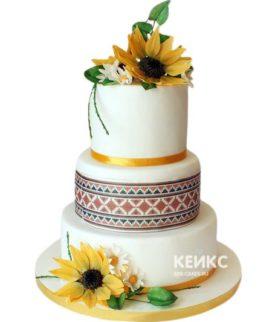 Торт в Украинском стиле 4