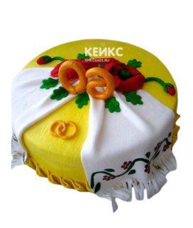 Торт в Украинском стиле 5