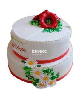 Торт в Украинском стиле 6