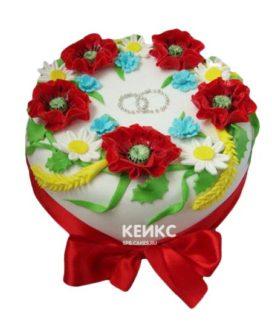 Торт в Украинском стиле 7