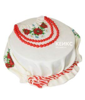 Торт в Украинском стиле 8