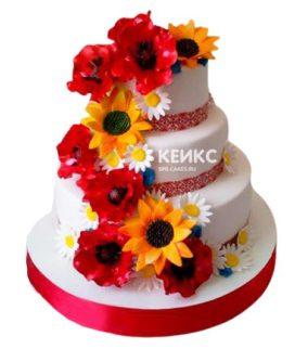 Торт в Украинском стиле 9