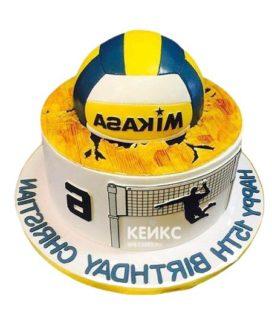 Торт Волейбол 20