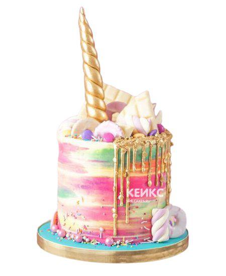 Необычный Детский торт для девочки 1