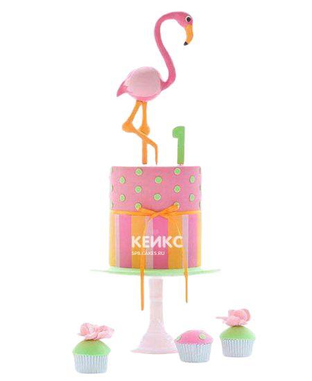 Необычный Детский торт для девочки 4