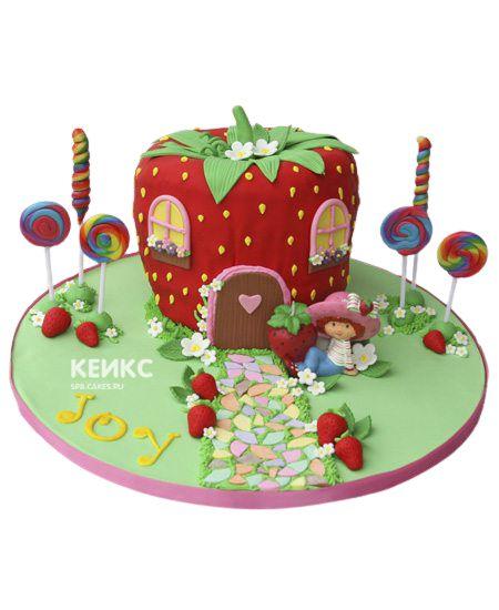 Необычный Детский торт для девочки