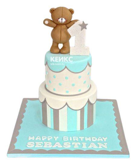 Необычный Детский торт для мальчика 1