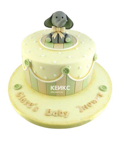 Необычный Детский торт для мальчика 2