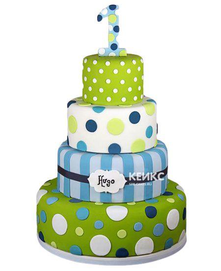 Необычный Детский торт для мальчика 7