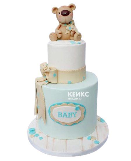 Необычный Детский торт для мальчика 8