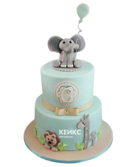 Необычный Детский торт для мальчика 9