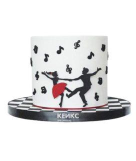 Торт для танцовщицы 15