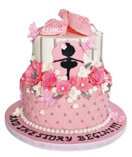 Торт для танцовщицы 9