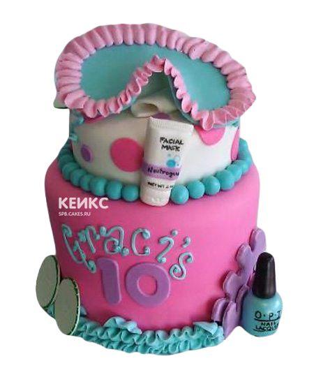 Торт для девочки на 10 лет 16