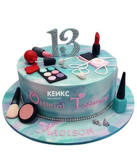 Торт для девочки на 10 лет 18