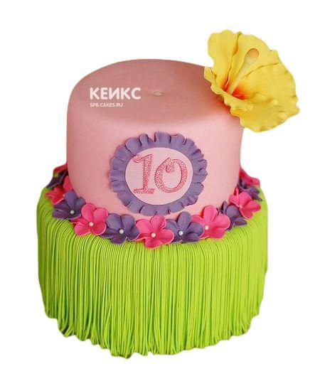 Торт для девочки на 10 лет 20