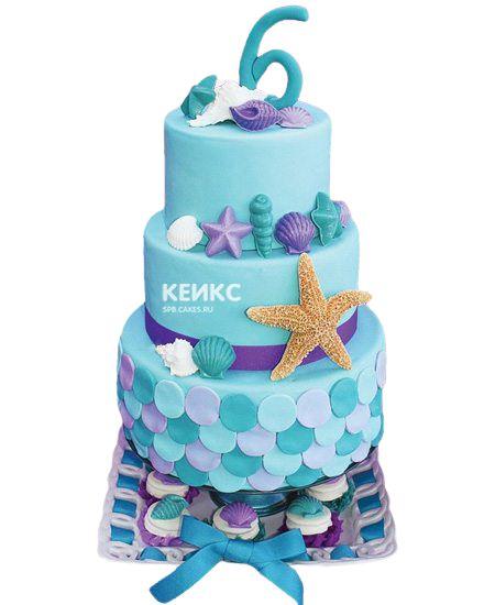 Торт для девочки на 6 лет 22