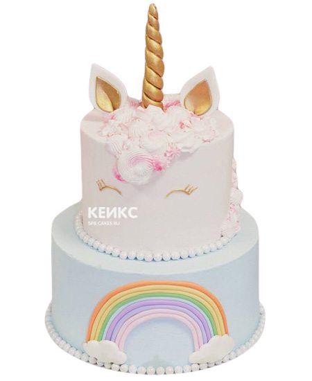 Торт для девочки на 6 лет 23