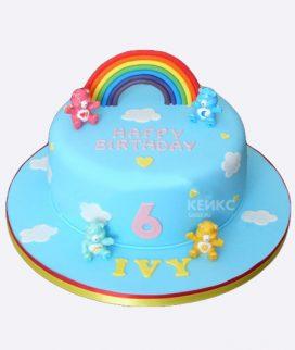 Торт для девочки на 6 лет 27