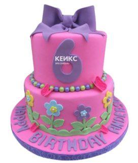 Торт для девочки на 6 лет 32