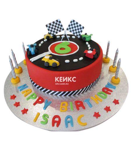 Торт мальчику на 6 лет 15