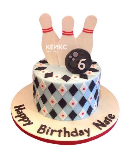 Торт мальчику на 6 лет 20