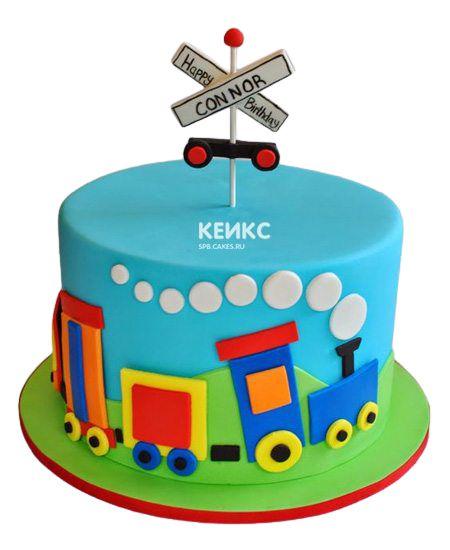 Торт на 4 года мальчику 11