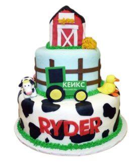 Торт на 4 года мальчику 4