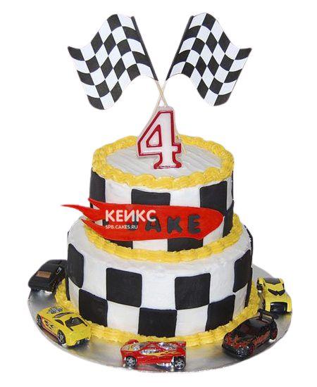 Торт на 4 года мальчику 8